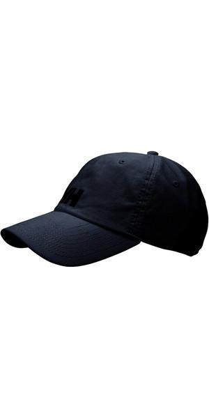 2018 Helly Hansen Logo Casquette Noir 38791