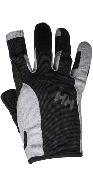 2019 Helly Hansen Long Finger Vela Guante Negro 67771