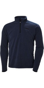 Helly Hansen Mens Daybreaker 1/2 Zip Fleece Abend blau / schwarz 50844