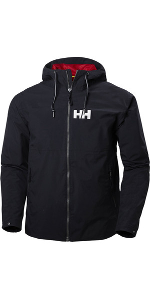 2018 Helly Hansen Mens Rigging Rain Jacket Navy 64028