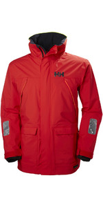 2019 Helly Hansen Pier Coastal Jacket Alert Red 33872