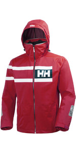 2019 Helly Hansen Salt Power Jacke Rot 36278