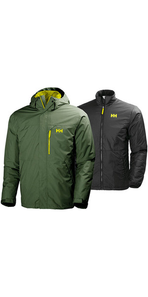2018 Helly Hansen Squamish CIS 3-in-1 Jacke Ivy Green 62368