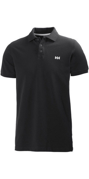 2018 Helly Hansen Transat Polo Shirt Ebony 50583