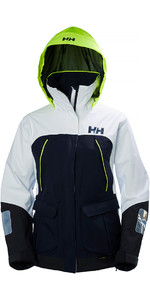 2018 Helly Hansen Womens Pier Coastal Jacket in Navy 33886