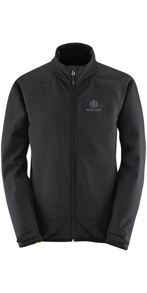 2019 Henri Lloyd Cyclone Soft Shell Inshore Jacket nero Y50203