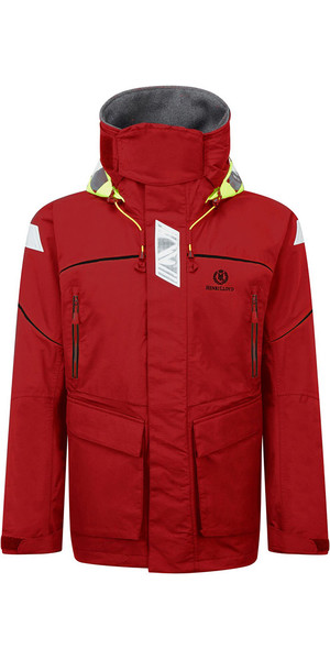 2019 Henri Lloyd Freedom Offshore Jacket NEW RED Y00351