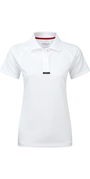 2018 Henri Lloyd Ladies rapide Dry T-shirt Polo en blanc optique Y30279