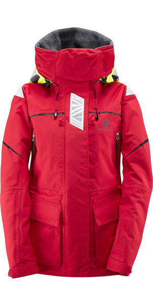 2019 Henri Lloyd Ladies Offshore Jacket New Red Y00352