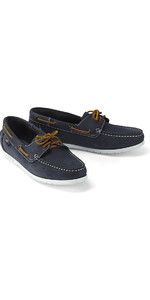Henri Lloyd Womens Shore Deck Sapato Denim Azul F94425