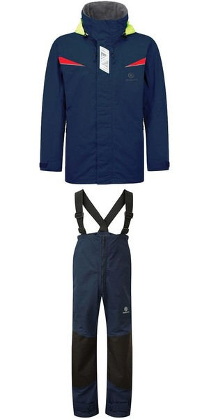 2019 Henri Lloyd Wave Inshore Jacket Y00353 & Hi-Fit Trousers Y10162 COMBI SET MARINE