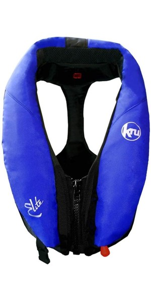 Kru Elite 195N Chaleco salvavidas manual azul LIF7420