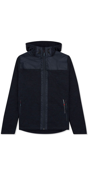 Musto Bruma Femmes Sweat à capuche Polaire Marine / Orange Feu SE3540
