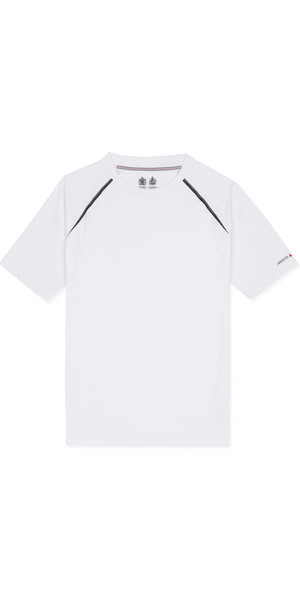 Musto Evolution Dynamic Short Sleeve Tee WHITE EMTS018