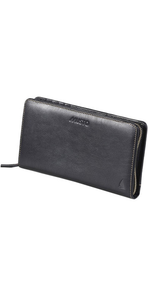 Musto Evolution Leather Travel Wallet BLACK AE0800