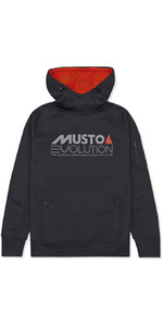 Musto Evolution Logo Hoody BLACK EMSW013
