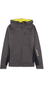 Musto Evolution Logo Zip Com Capuz CHARCOAL EMSW012