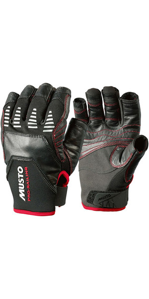 Musto Evolution Sailing Short Finger Glove BLACK AE1090