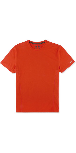 Musto Evolution Sunblock Short Sleeve T-Shirt FIRE ORANGE EMTS019