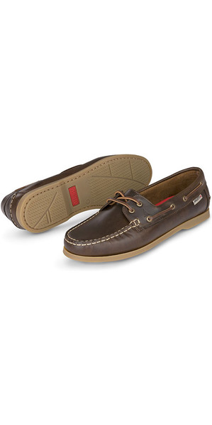2019 Musto Womens Harbour Moccasin Sko Dark Brown FWFT002