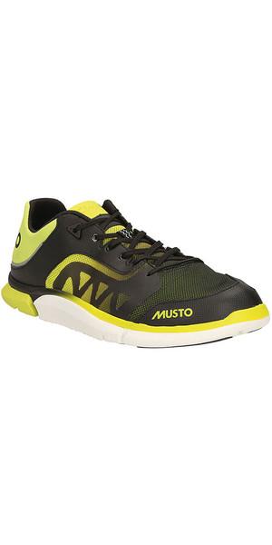 Musto Trilite Performance Sejlsko Sort / Lime FS0820 / 30
