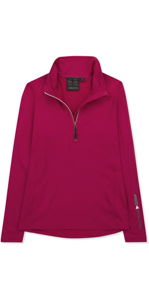 Musto Femmes Corentin Warm Up Top CERISE EWSW019