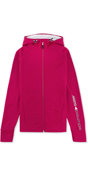 Musto Damen Evolution Zip Hoody CERISE EWSW007