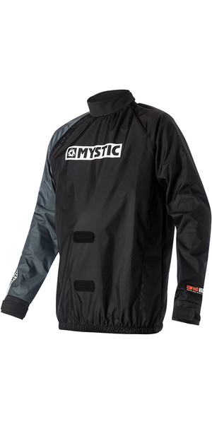 2018 Mystic Kite Windstopper Jacket Black 140160