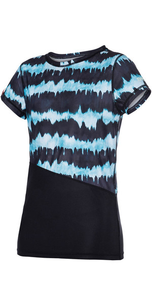 Top Mystic Ladies abbagliato manica corta Quick Dry Top 170300