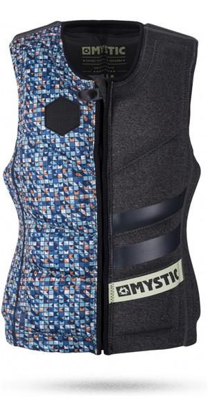Mystic Lior Sofer Front Zip Wake Impact Vest GREY 170329