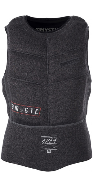 2018 Mystic Majestic Zipperless Kite Impact Vest Black 170307