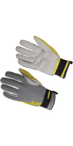 2019 Nookie Amara Luvas de Neopreno 2mm GREY / YELLOW NE33