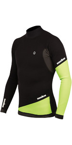 2019 Nookie Ti Canotta a maniche lunghe in neoprene da 1 mm Top nero / verde NE02