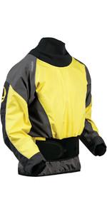 2020 Nookie Rush White Water Jacket YELLOW / CHARCOAL GREY JA20