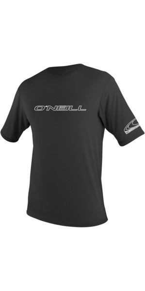 2018 O'Neill Basic Tees manches courtes Rash BLACK 3402