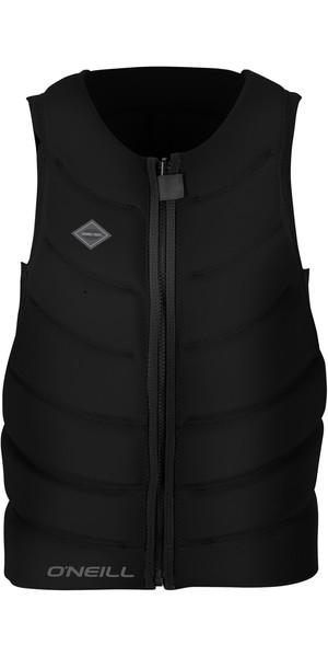 2018 O'Neill Gooru Tech avant Zip Comp Impact Vest noir 4916EU