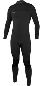 2020 O'Neill Mens HyperFreak Comp 3/2mm Zipperless Wetsuit 4970 - Black