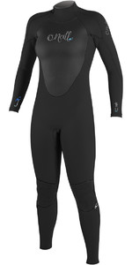 2018 O'Neill Womens Epic 3/2mm GBS Back Zip Wetsuit BLACK / BLACK 4213