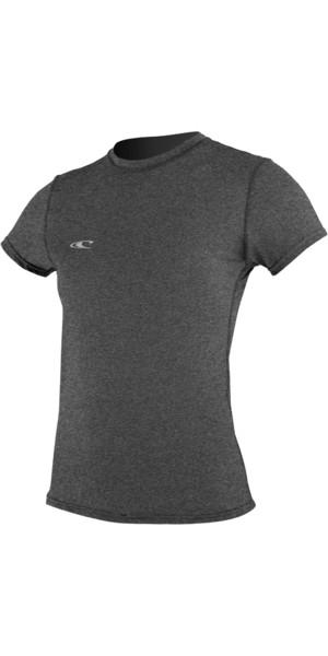 T-shirt da surf a manica corta ibrida O'Neill donna GRAPHITE 4675