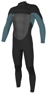 O'Neill O'riginal 3/2mm Chest Zip Wetsuit BLACK / DUSTY BLUE 5011 SECOND