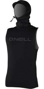 2019 O'Neill Thermo-X Hooded Thermal Vest BLACK 5023