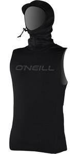 2019 O'neill Thermo-x Thermisch Vest Met Capuchon Zwart 5023