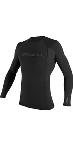 2020 O'neill Thermo-x Langærmet Crew Top Sort 5022