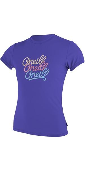 O'Neill Youth Girls manga corta camiseta Rash COBALT 4118