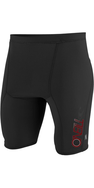 2019 O'Neill Youth Skins Rash Shorts NEGRO 3536