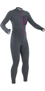 2020 Palm Womens Tsangpo Drop Seat Thermal Undersuit Jet Grey 11746