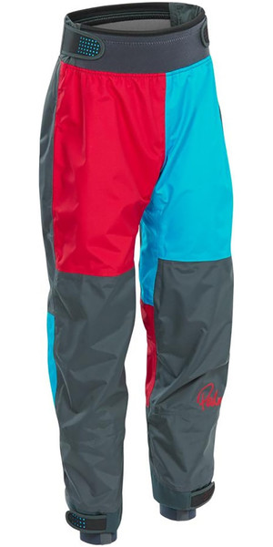 2019 Palm Rocket Junior / Enfants Kayak Pantalon Aqua / Rouge 12128