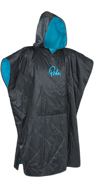 2019 Palm Weatherproof Changing Robe / Poncho Grande i Jet Grey 11783