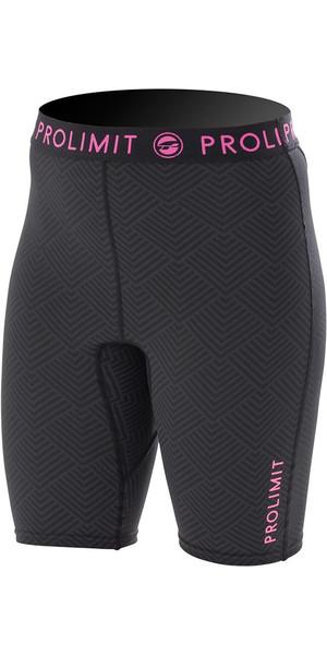 Prolimit Ladies SUP pantalones cortos de Dry rápido negro / rosa 74790