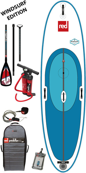2017 Red Paddle Co 10'7 Ride WINDSURF inflable Stand Up Paddle Board + Bolsa, Bomba, Paddle y Correa